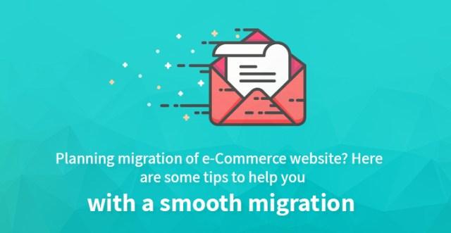 migration of e-commerce website