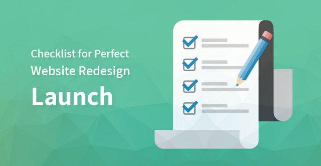 Perfect Website Redesign