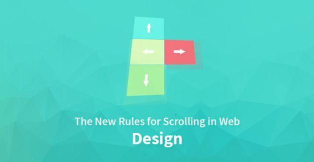 scrolling in web design
