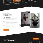fitness center WordPress theme