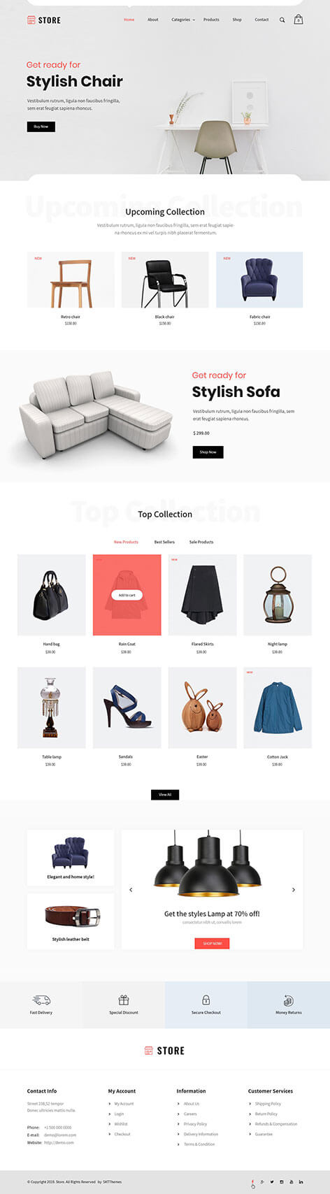 products WordPress theme