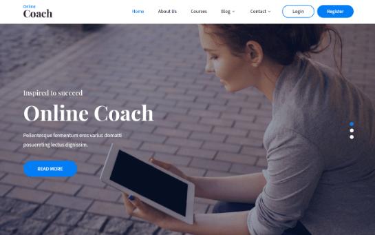 online coach new
