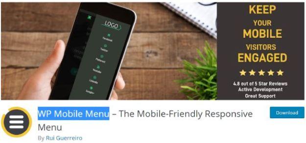 wp mobile menu