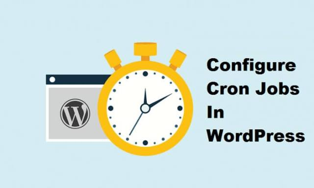 Configure Cron Jobs In WordPress