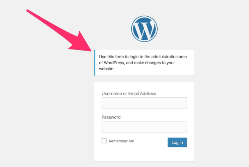 WordPress Dashboard Setting