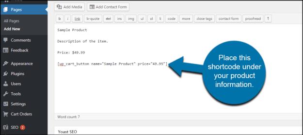 Configure WordPress Simple PayPal