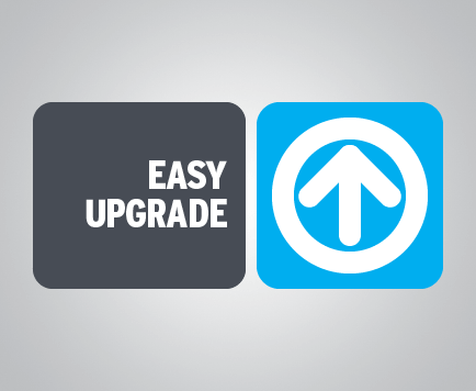 easy to Upgrade