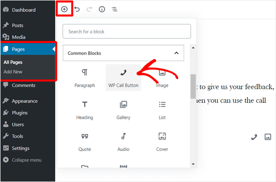 Create a Call-to-Action Button