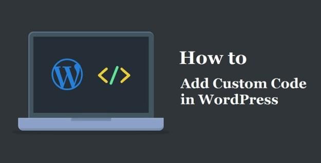 Add Custom Code in WordPress