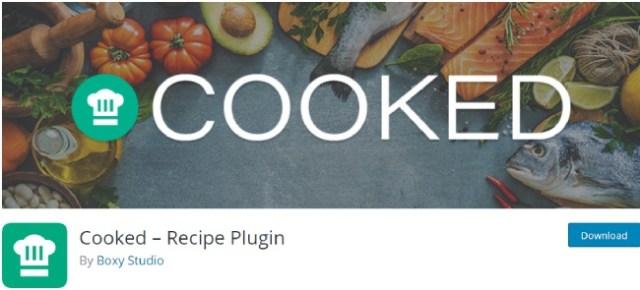 cooked recipe plugin
