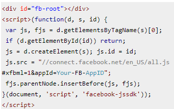 fb script code