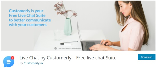 live chat by customerly