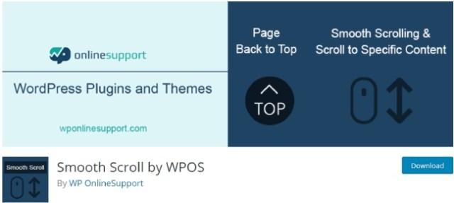 smooth scroll by wpos