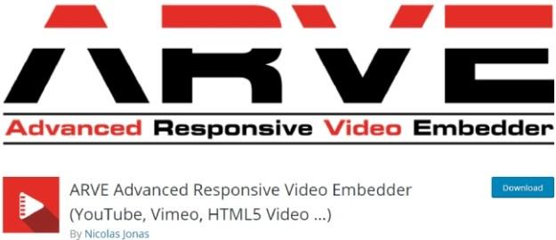 ARVE Advanced Responsive Video Embedder