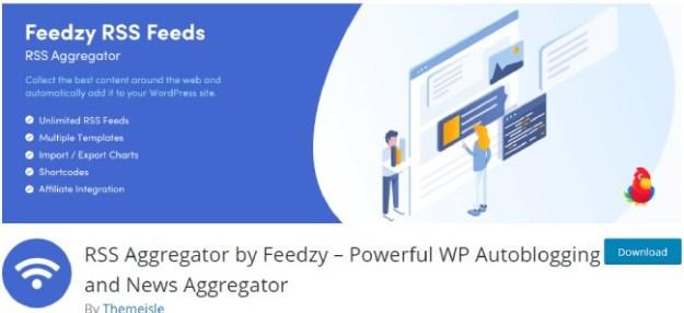 RSS Aggregator by Feedzy