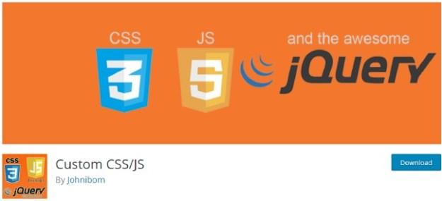 custom css js