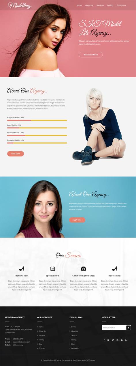 free lifestyle WordPress theme