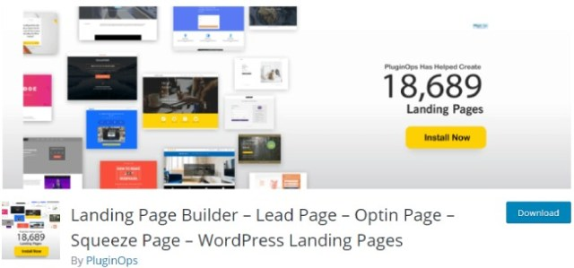 landing page squeeze page