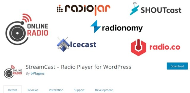 streamcast radio player