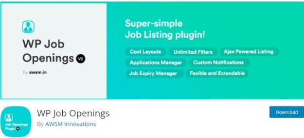 wp job openings