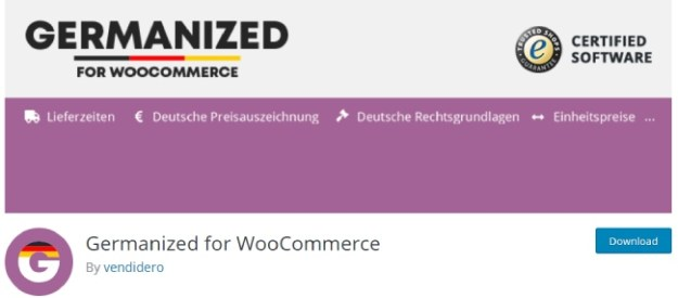 Germanized for WooCommerce