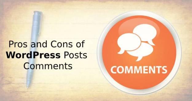 WordPress Posts Comments