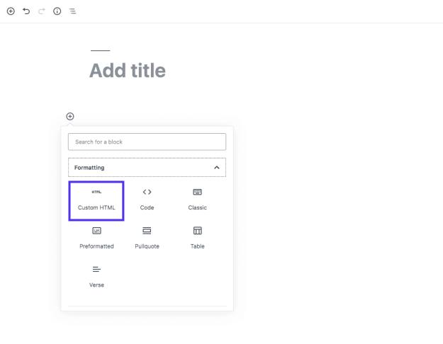 custom-html-block
