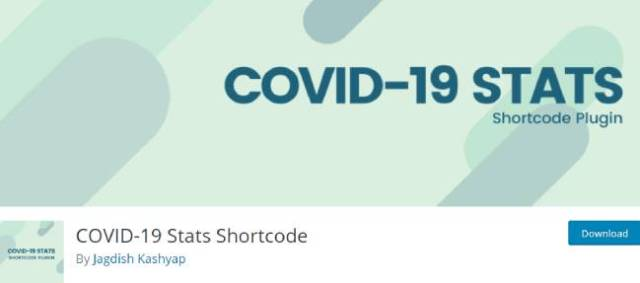 COVID-19 Stats Shortcode