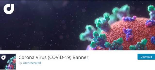 Corona Virus (COVID-19) Banner