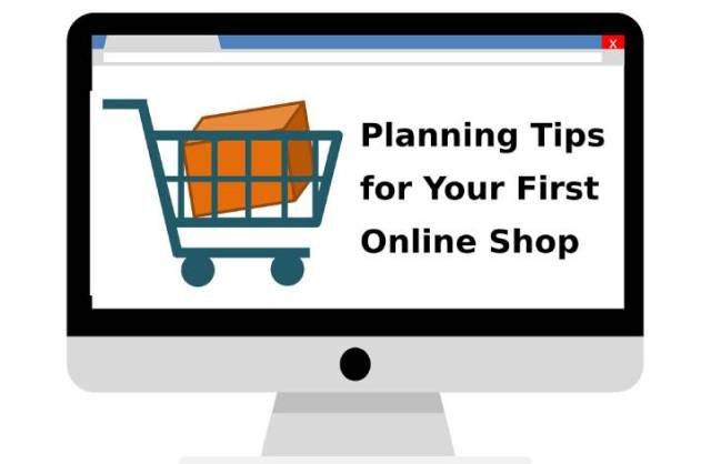 tips for first online shop