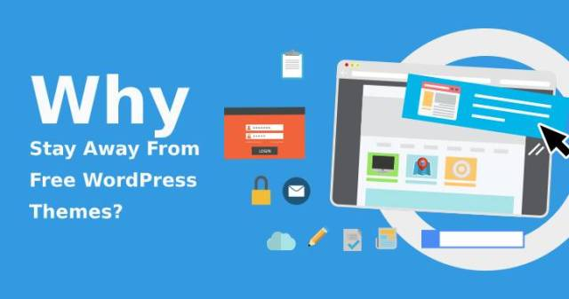Stay Away From Free WordPress Themes