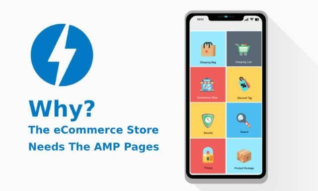 eCommerce store needs AMP