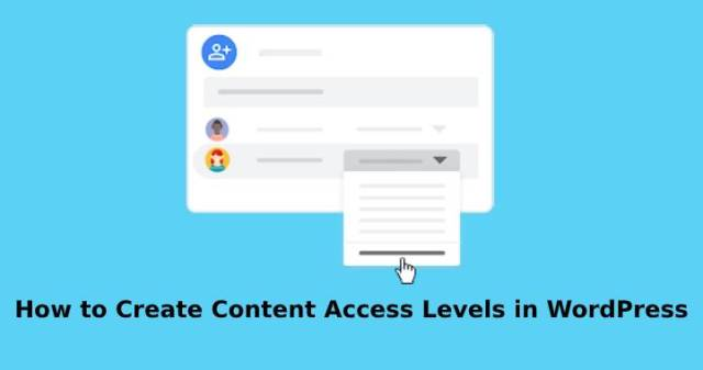 create content access levels