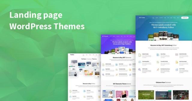 WordPress Landing Pages Themes