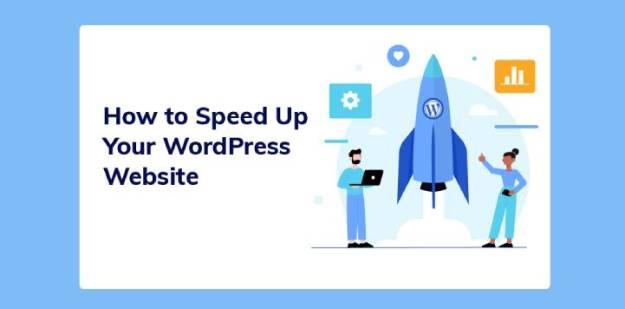 speed up your WordPress website