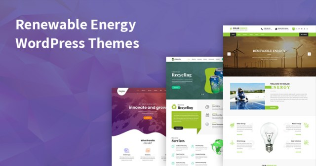 renewable energy WordPress themes