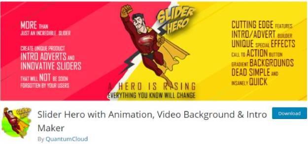 slider animation