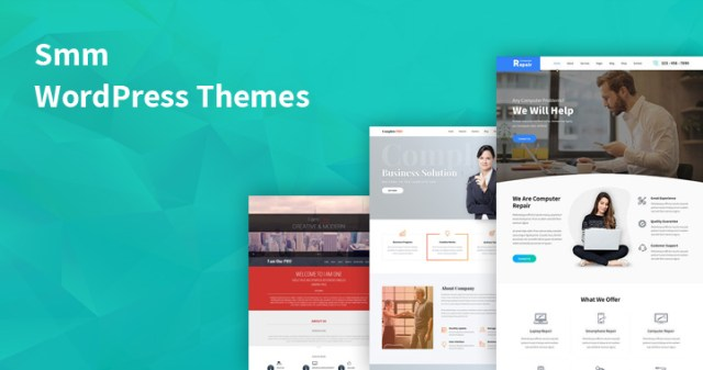 smm WordPress themes