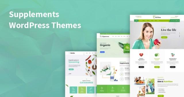 supplements WordPress themes