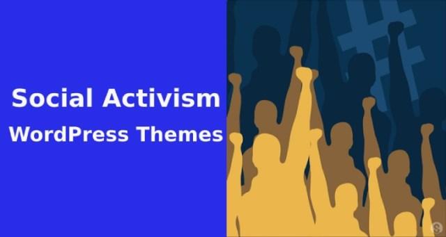 social activism WordPress themes