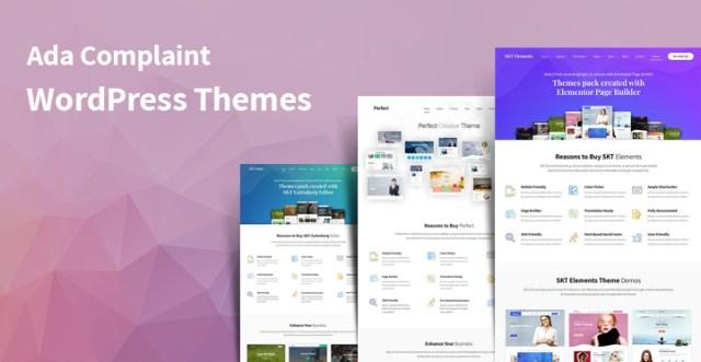 ada-complaint WordPress themes