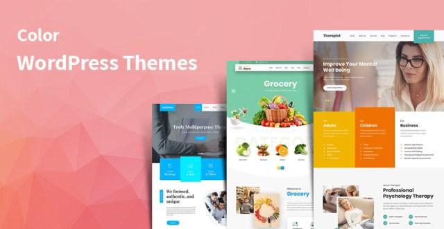 color WordPress themes