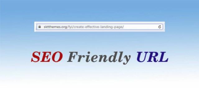 seo friendly url