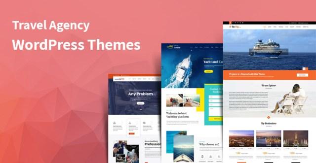 travel agency WordPress themes