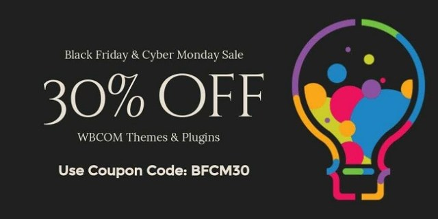 Wbcom Designs BFCM