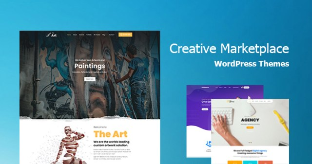 creative marketplace wordpress themes