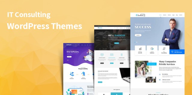 it consulting WordPress themes