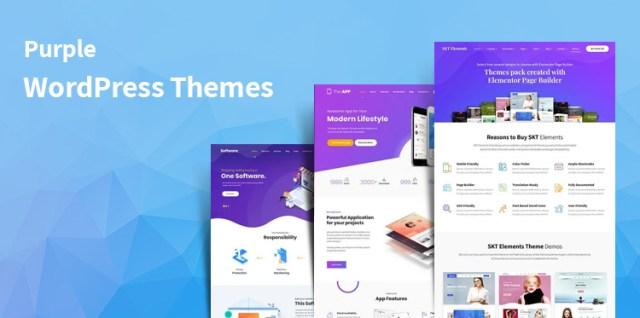 Purple WordPress Themes