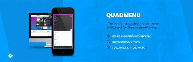 WordPress Mega Menu- QuadMenu