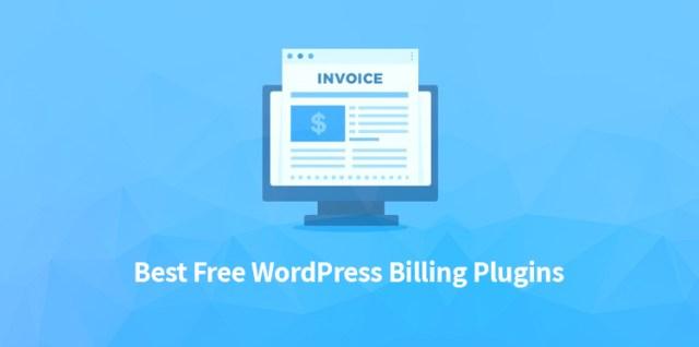 Best-Free WordPress Billing Plugins